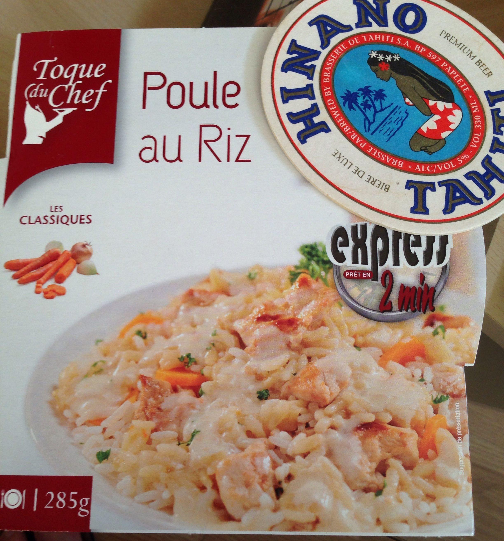 Poule au riz - Product