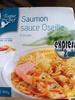 Saumon sauce oseille & son riz pilaf - Produit