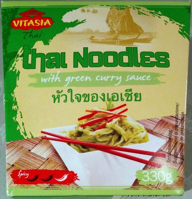 Thai Noodles with green curry sauce - 产品 - de