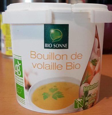 Bouillon de volaille bio - Produit