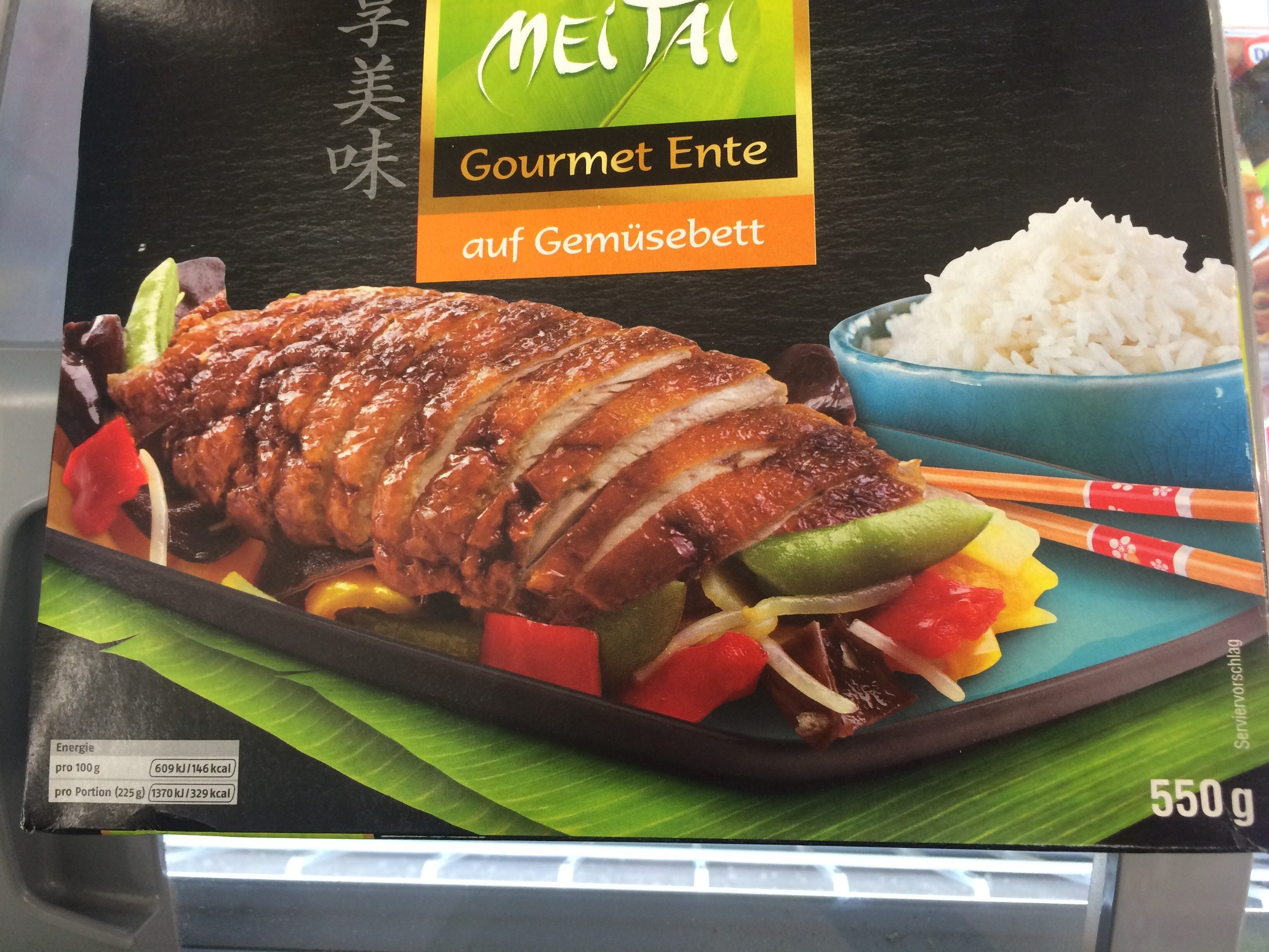 Gourmet Ente auf Gemüsebett - Product - de