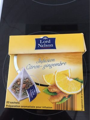 Lord Nelson Rooibos, Zitrone Pfeffer - Product