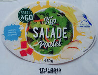 Salade repas poulet - Product - fr