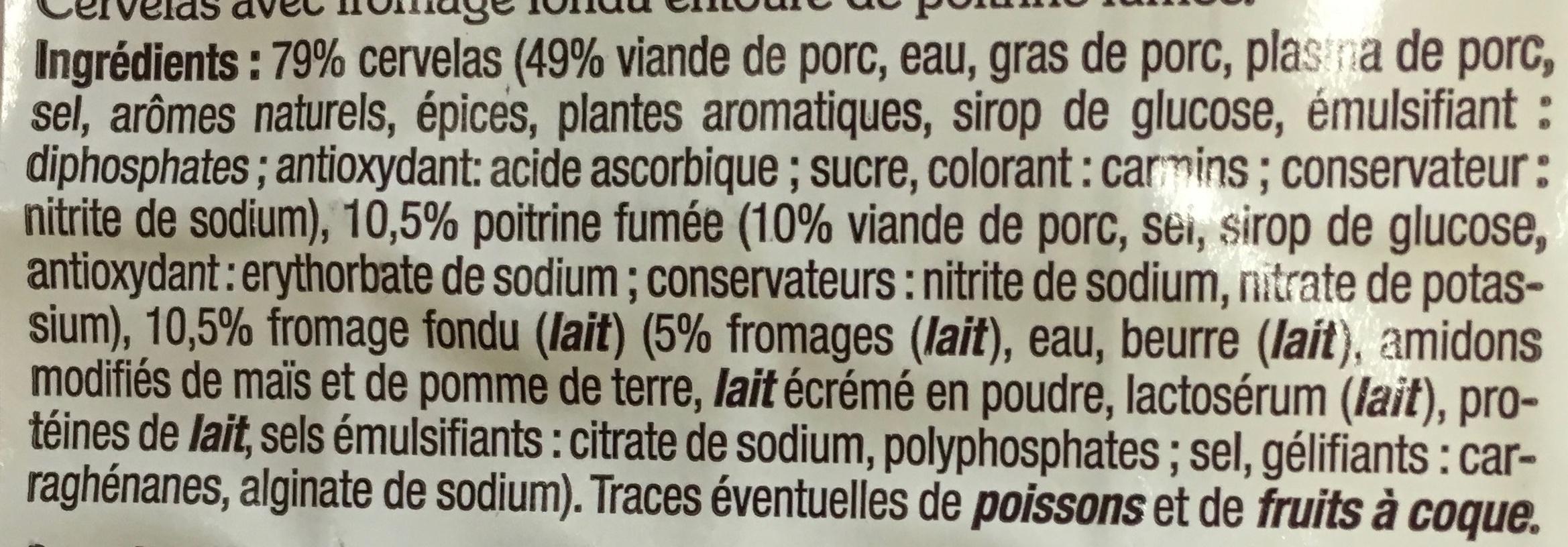 Cervelas à l'alsacienne - Ingrédients