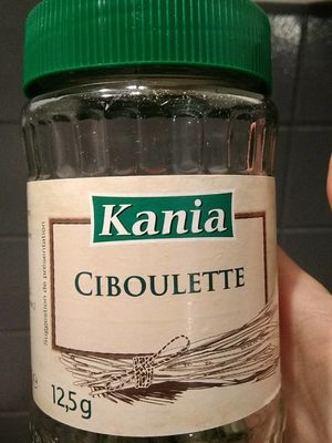 Ciboulette - Nutrition facts - fr