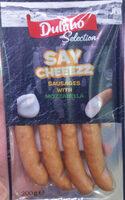 Salchichas Say Cheeezz - Produit - bg