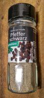 Pfeffer schwarz gemahlen - Produto - fr