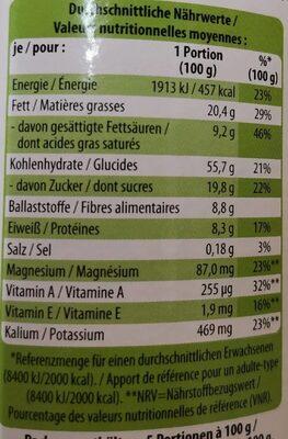 Bio crunchy muesli coco banane - Informations nutritionnelles - fr