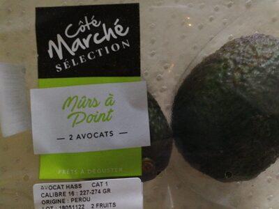 Avocats - Informations nutritionnelles - fr