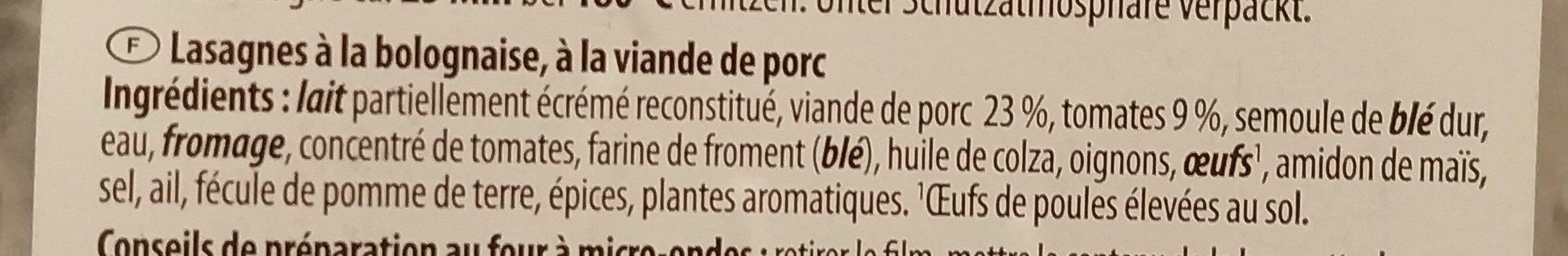 Burgundersosse - Ingredienti - fr