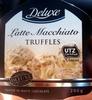 Bombones rellenos de Latte Macchiato y trufa - Product