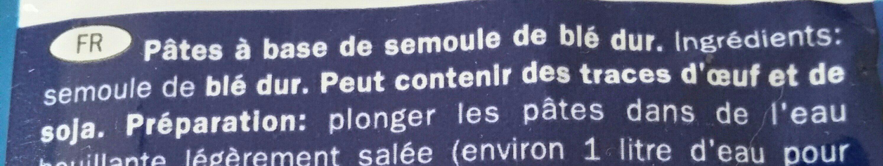 Pipe Rigate COMBINO (LIDL) - Ingrediënten - fr