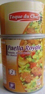 Paella Royale (Volaille, fruits de mer & Chorizo) - Product - fr