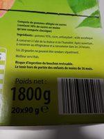 P'tite pom' - Ingrédients - fr