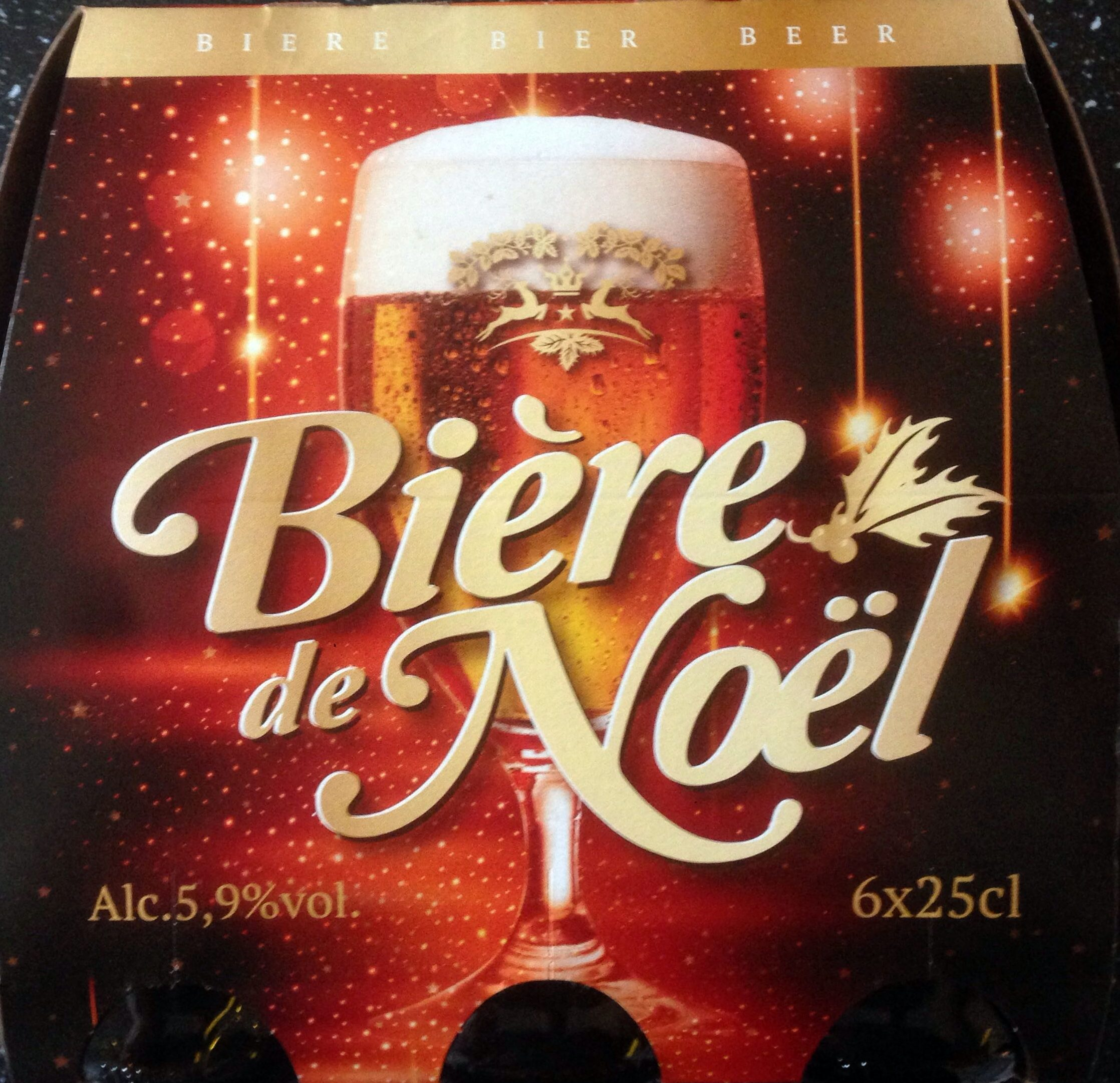 BièRe De Noel Bière de Noël   Lidl   1,5L (6*25 cl)