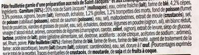 Feuilletés au Noix de Saint-Jacques et Champignons des Bois - Ingrédients - fr
