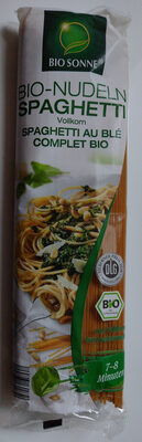 Spaghetti au blé complet bio - Produkt - de