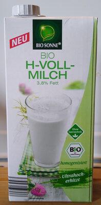 Bio H-Vollmilch - Produkt