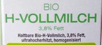 Bio H-Vollmilch - Zutaten - de