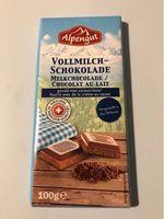 Vollmilchschokolade, Kakaocreme - Product