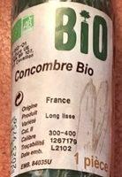 Concombre Bio - Inhaltsstoffe - fr
