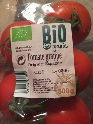 tomates grappes bio - Product - fr