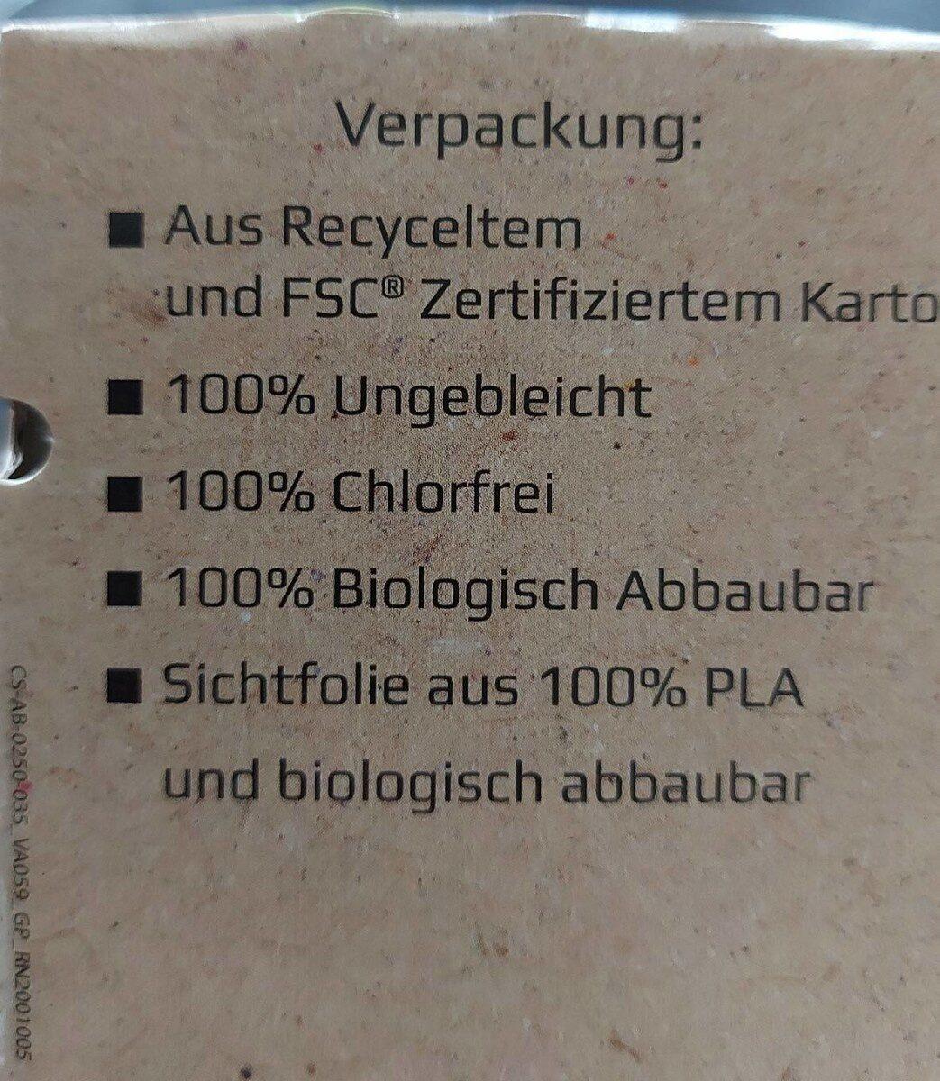 Bio Heidelbeeren - Nährwertangaben - fr