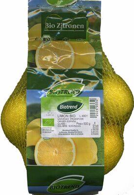 Limón bio - Product - fr