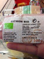Limón Bio - Ingrédients - fr