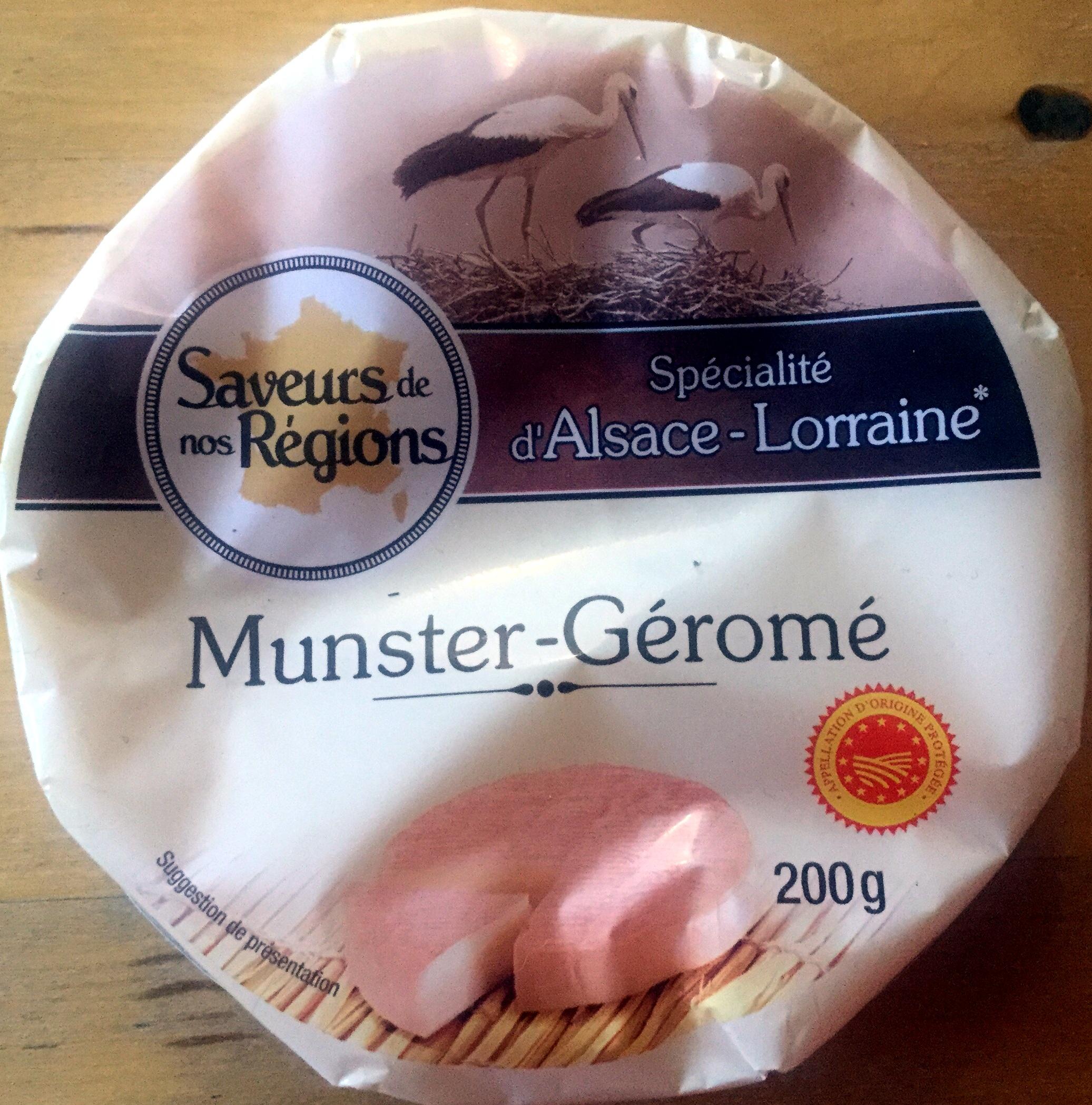 Munster-Geromé - Produit - fr