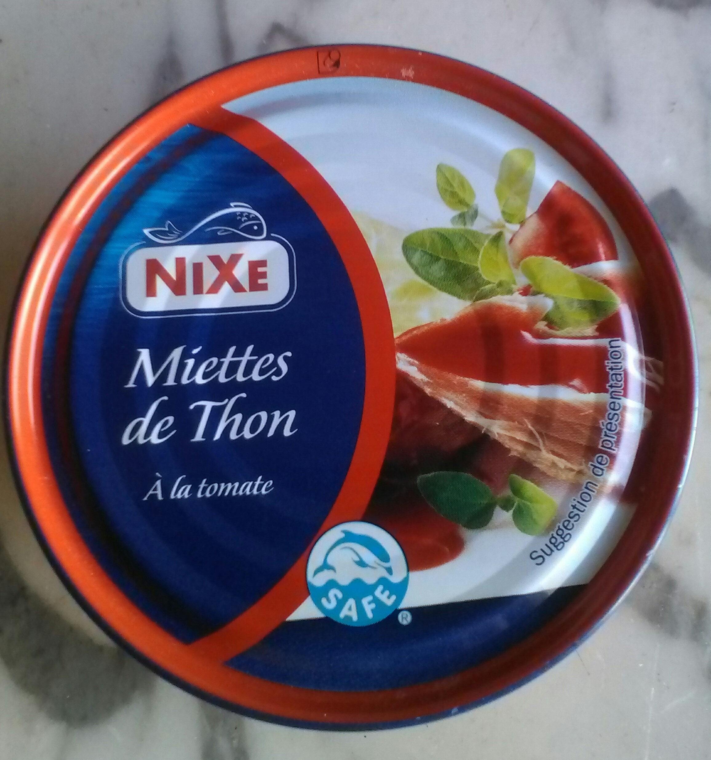 Miettes de thon - Produit