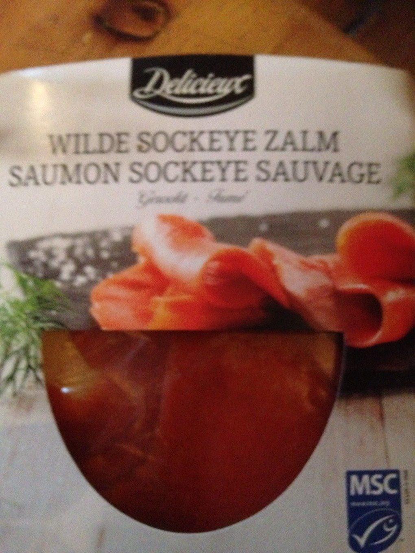Saumon sockeye sauvage fumé - Produit - fr