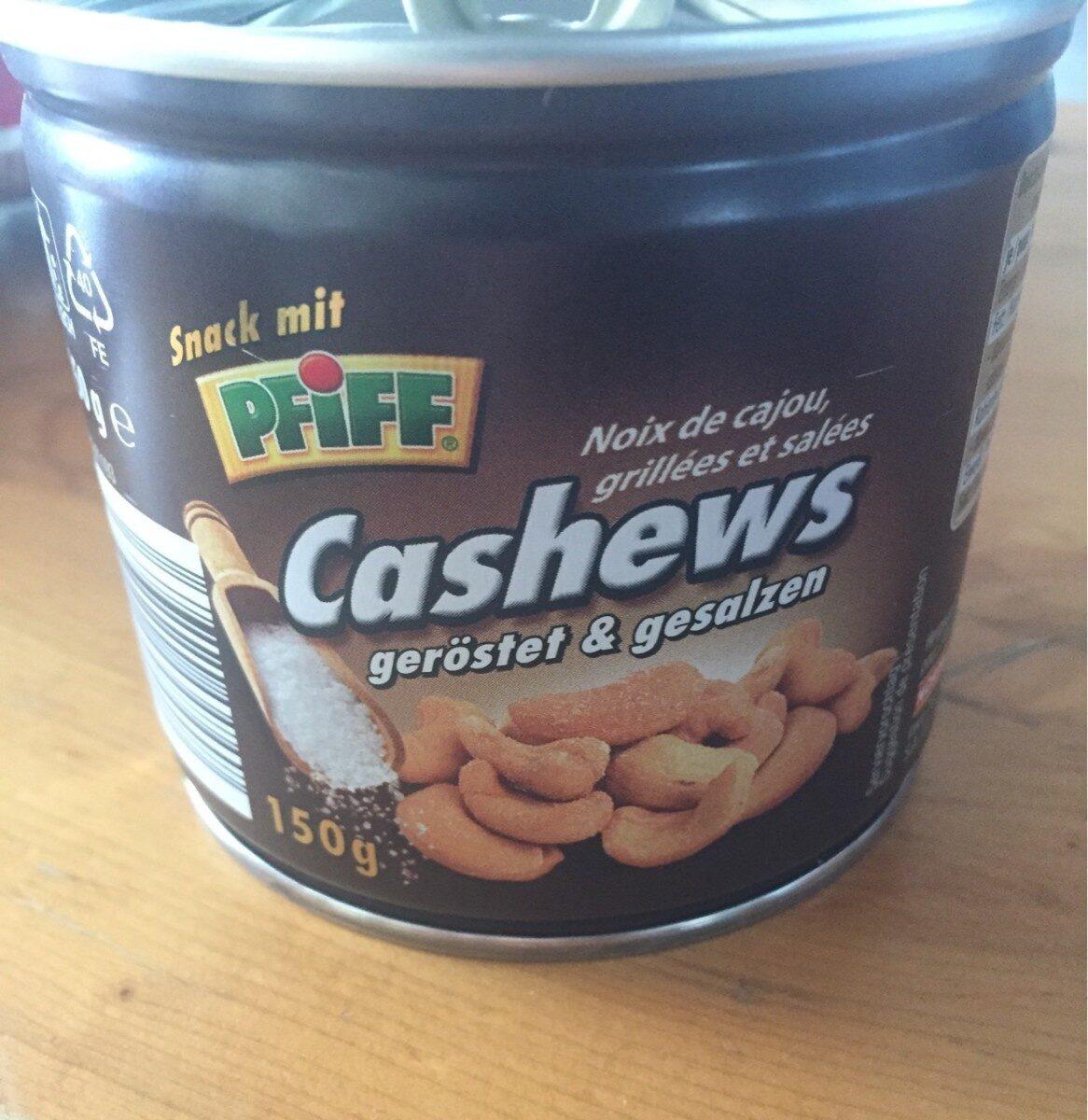 Cashews geröstet und gesalzen - Product - de