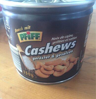 Cashews geröstet und gesalzen - Produit