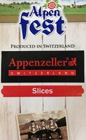 Appenzeller slices - Prodotto - en