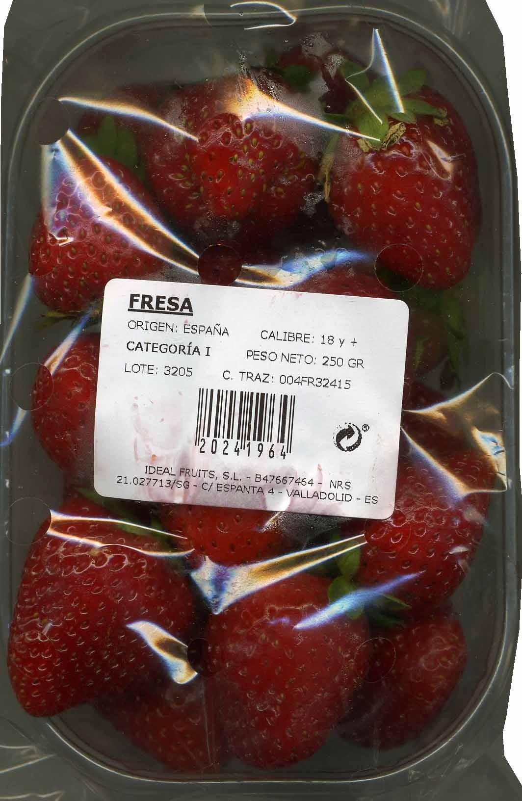 Fresas - Producto