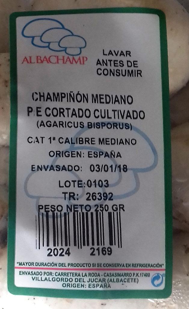 Kulturchampignons weiß - Ingredientes - es