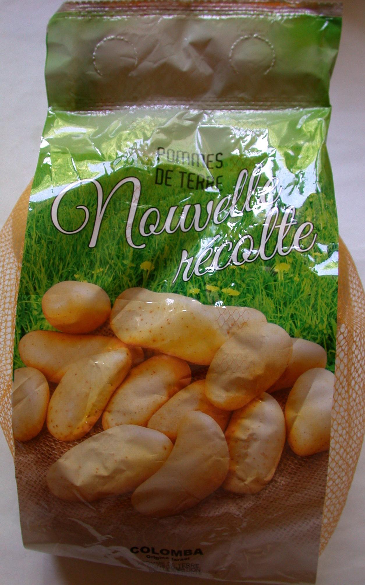 Pommes de terre nouvelle r colte sans marque 1 5 kg - Recolte des pommes de terre ...