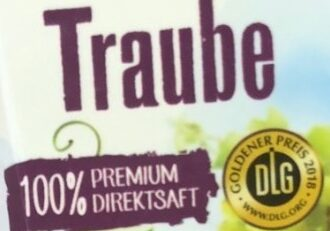 Traube 100% Premium Direktsaft - Ingrediënten - de