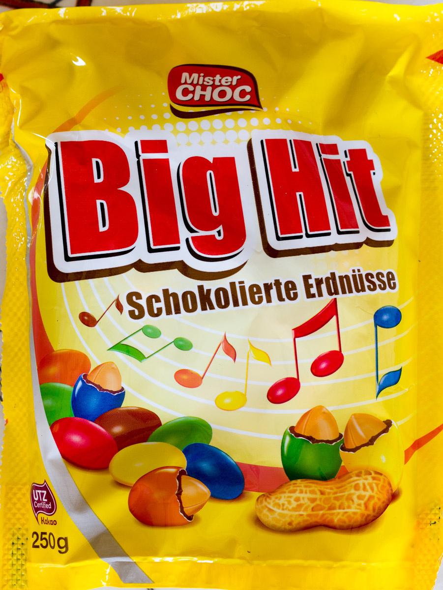 Big Hit Mister Choc 250 G