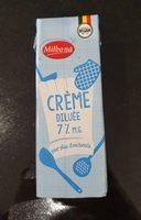 Milbona crème diluée 7%M.G - Product - fr