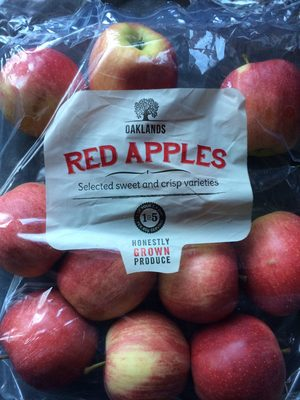 Red apples - Produit - fr