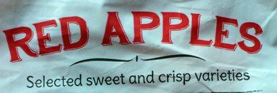 Red apples - Ingredients