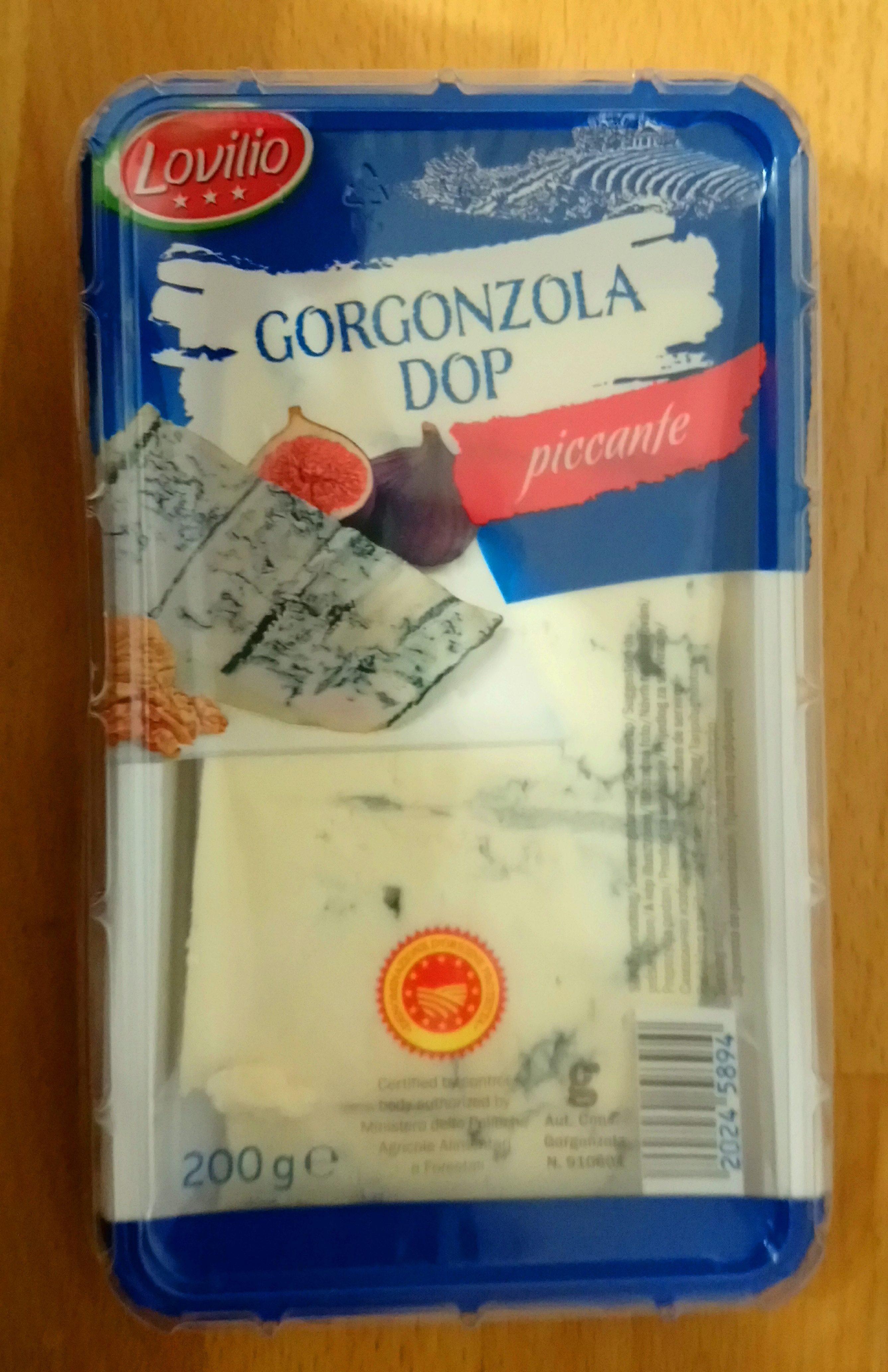Gorgonzola Dop Piccante, 200g - Produit - de