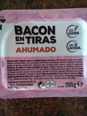 Bacon - Ingredientes