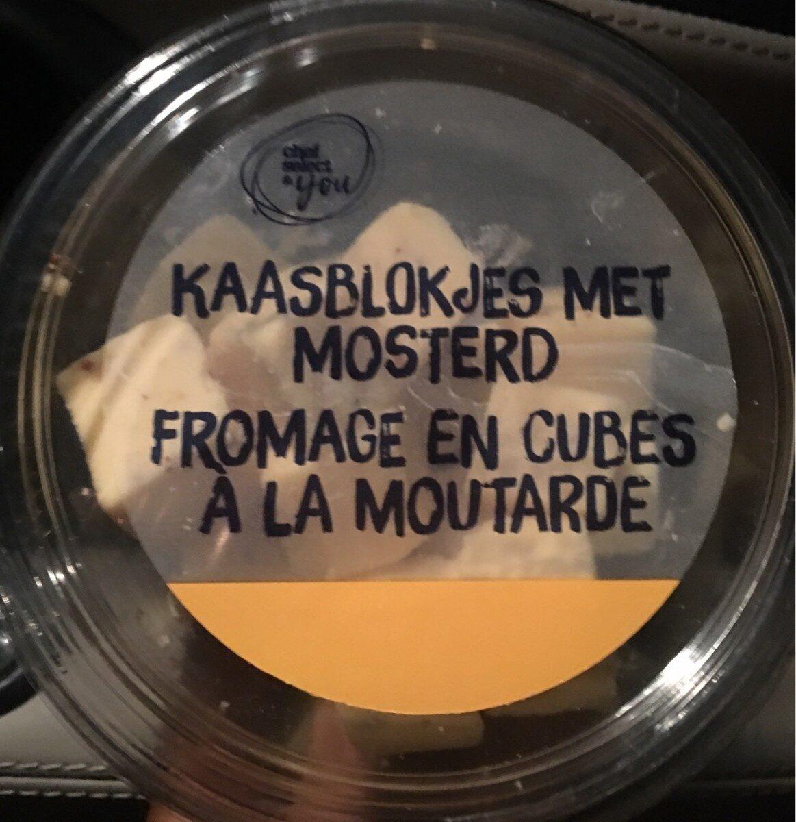 Fromage en cubes à la moutarde - Produit