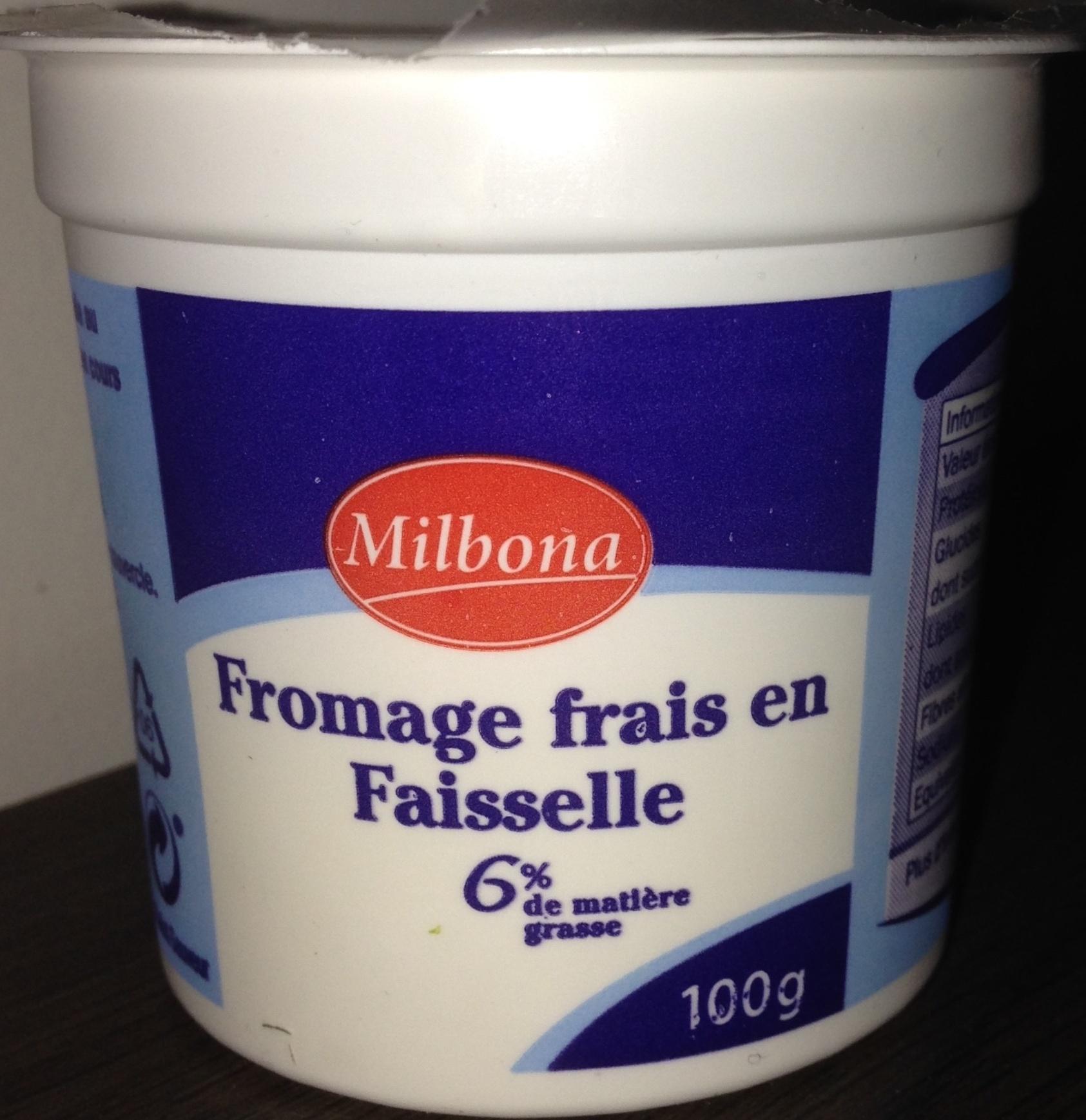 Fromage frais en Faisselle (6 % MG) - Produit