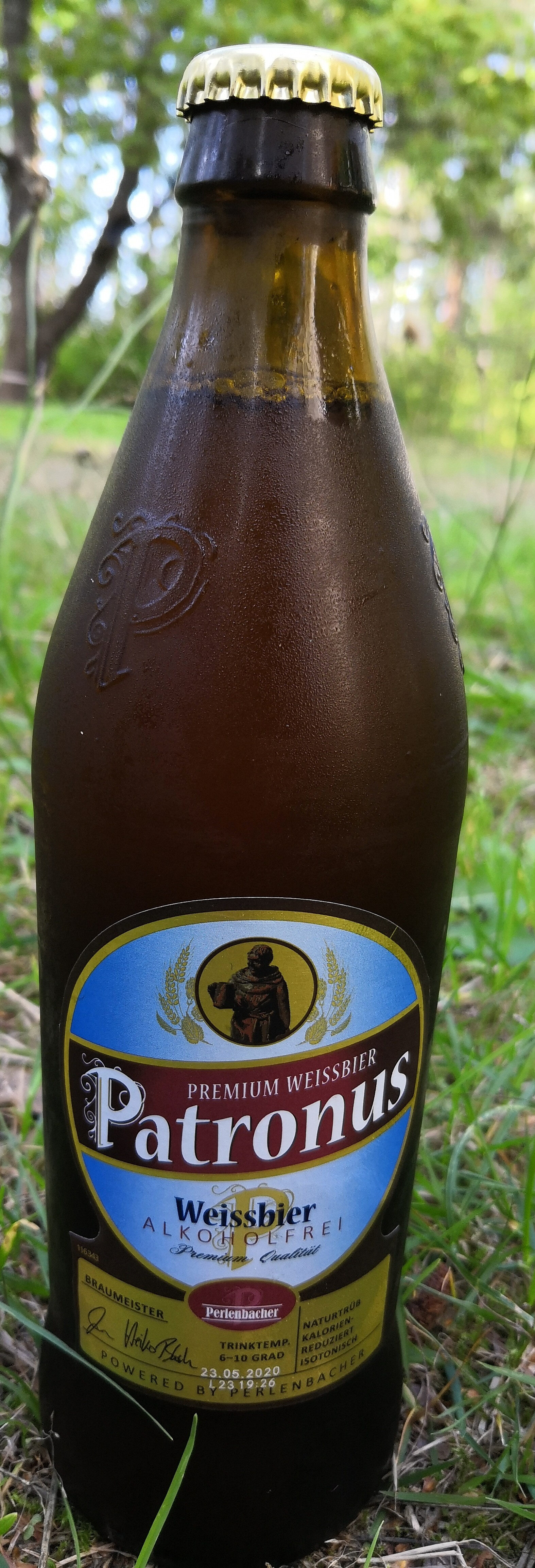 Patronus Weisbier Alcoholfrei - Product