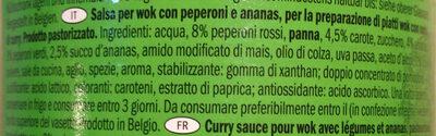 Cremoso - Ingredients - it