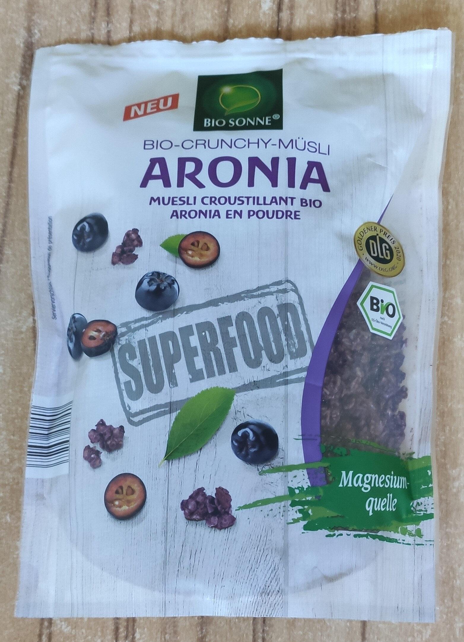 Bio-Cruncy Müsli Aronia - 产品 - de